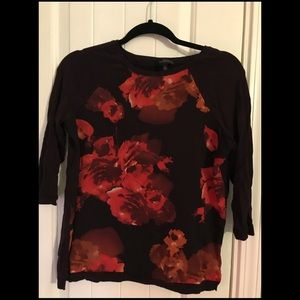 The Limited 3/4 sleeve top size small